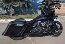 Harley-Davidson bagger с IPAD