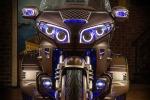 Скрытая подсветка на Honda Gold Wing