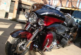 "Harley-Davidson Electra glide ""Кричащий орёл"""